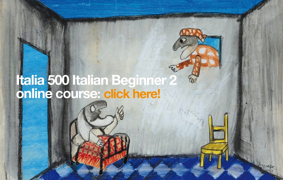 Learn Italian online with Italia 500 - Italia 500 Italian Beginner 2 online course